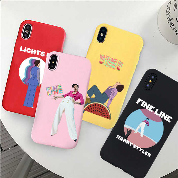 iPhone 10XXS iPhone 78 iPhone 11 Cute Protective Harry Styles Fine Line Inspired Phone Case iPhone 11 Pro iPhone XR Trendy