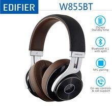 EDIFIER W855BT אלחוטי Bluetooth אוזניות HD סטריאו מוסיקה אלחוטי אוזניות BT V4.1 עם מיקרופון 3.5mm AUX כבל NFC זיווג