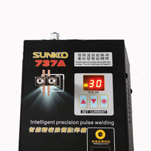 220V Intelligent Precision Pulse Battery Spot Welding Machine 18650 Battery Welding Machine S737A