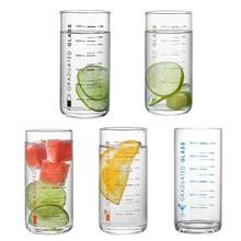 11,16 унций стакан для питья многоразовый стакан для воды стекло для хайбола с измерением