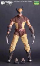 1:6 x-men maravilhas super herói wolverine logan articulado pvc figura de ação collectible modelo brinquedo