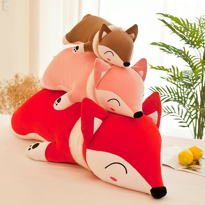 35cm Kawaii Dolls Stuffed Animals & Plush Toys for Girls Children Boys Toys Plush Pillow Fox Stuffed Animals Soft Toy Doll