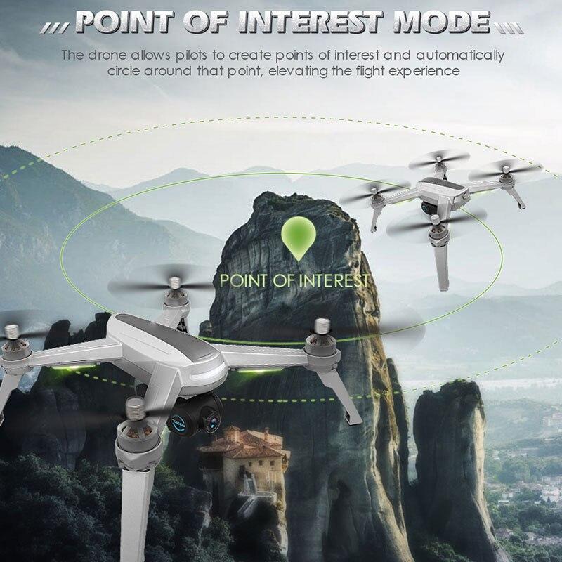 Новый gps, беспилотные летательные аппараты с Камера HD 1080P Профессиональный RC FPV WI FI 6 осевой селфи гоночный Дрон складной автоматический возв... - 2