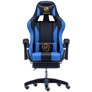 Image 4 - LIKE REGAL Multifunctional Fashion  Household Reclining Office Chair With Footrest Racing Seat