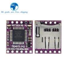Enregistreur de données série Openlog enregistreur de données Open Source Naze32 F3 Blackbox ATmega328 Support Module Micro SD pour Arduino