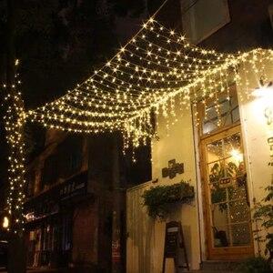 Image 2 - 1x5m droop 0.4 0.6m Led rideau glaçon chaîne lumières nouvel an fête de mariage guirlande lumière Led pour la décoration de noël en plein air