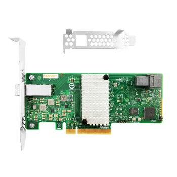 AS3008T-4I4E 9300-4I4E PCI-Express 3.0 SATA / SAS 4-Port Int, 4-Port Ext SAS3 12Gb/s HBA - Single