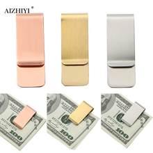 Clip de acero inoxidable para billetes, tarjeta de crédito, BILLETERA, dinero, Clip de sujeción de dinero, portátil, Dropshipping
