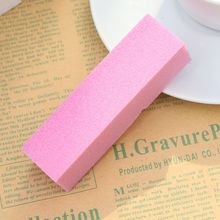 цена на 5 Pcs/Set Pink Sponge Nail File Buffing Buffer Block Manicure Polish Sanding Manicure Nail Art Tips DIY Nail Art Salon Tool