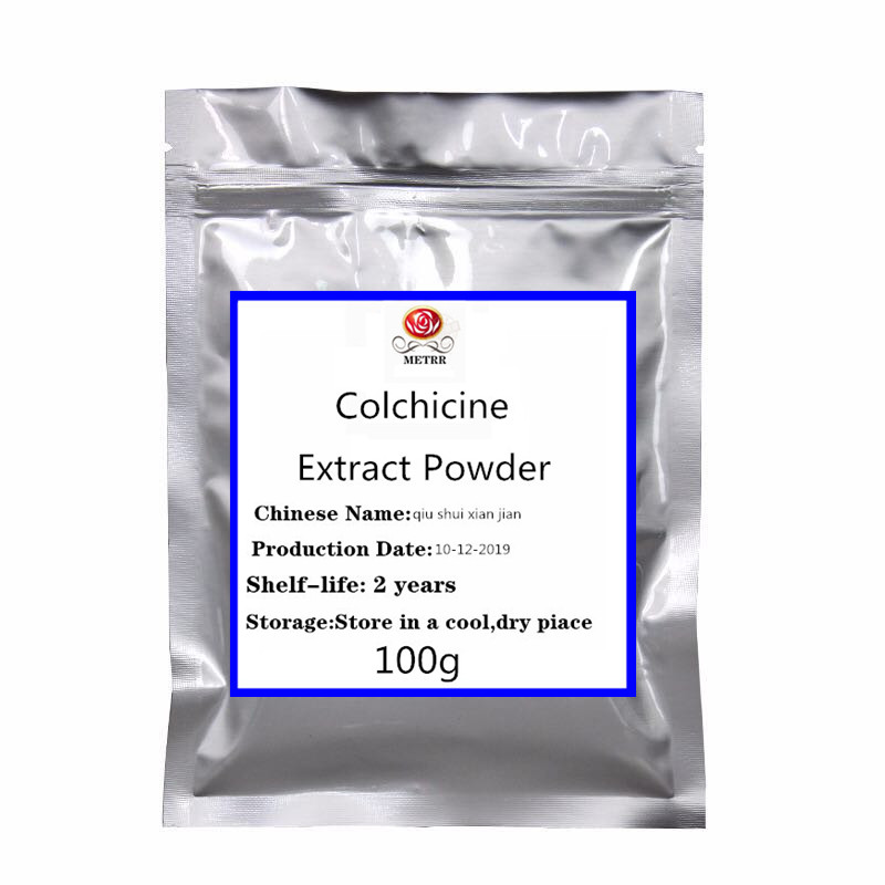 High-quality Colchicine Extract Powder Helps Improve Gout,Treat Liver Oxidation, Prevent Cancer
