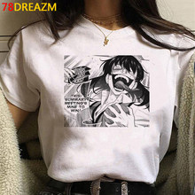 Kawaii Anime giapponese Kakegurui T Shirt donna divertente Harajuku Cartoon Graphic Tees moda Unisex estate top T-shirt donna