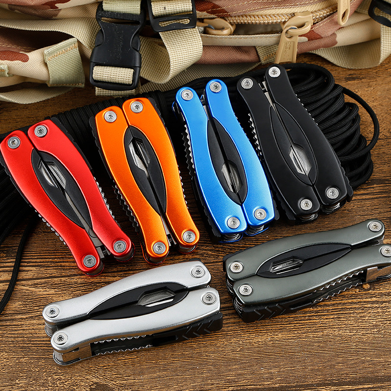 Outdoor Camping Combination Tool Folding Multi-function Pliers Portable Multi-purpose Survival Multi-purpose Tool Knife Pliers