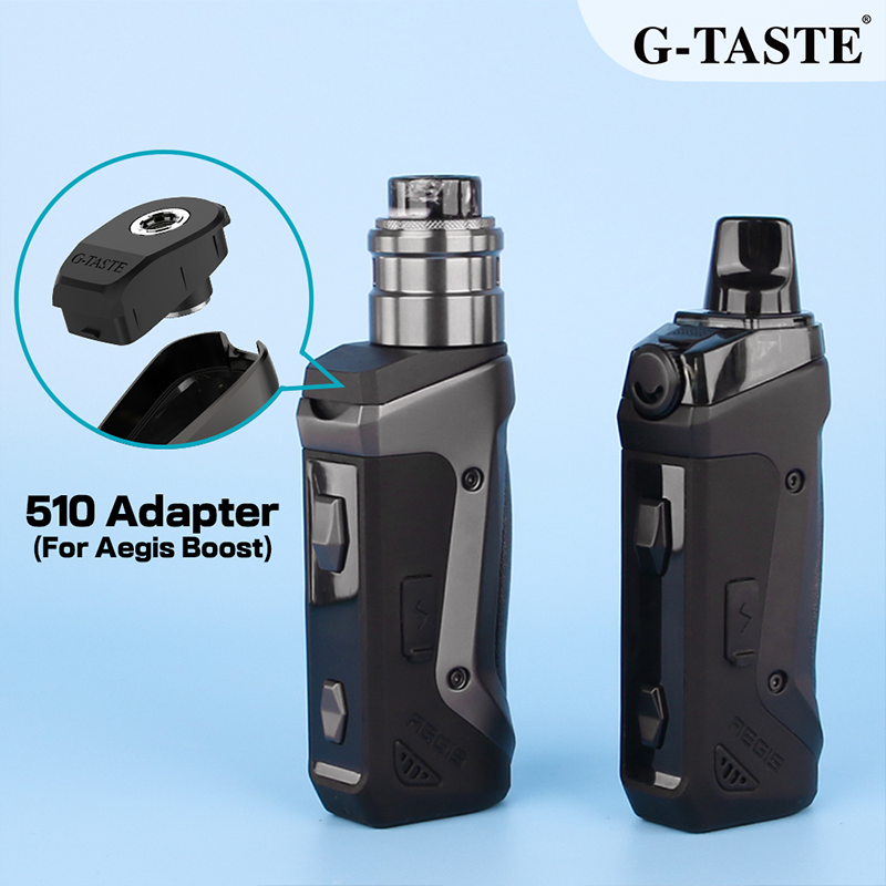 G-taste Transbost 510 Adapter For Geekvape Aegis Boost Pod Connector For 510 Electronic Cigarette Vape Tank Atomizer