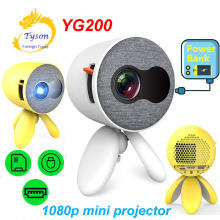ByJoTeCH YG220 LED Projector 1500 lumens home theater Portable Pocket support HD