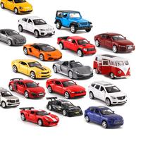 30pcs/lots CAIPO 1:43 Buick/Toyota/Audi/VW/Ford Alloy Pull back car Diecast Metal Model Car For Collection Children Gift