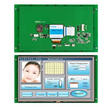 MCU Interface LCD 10.1 Inch HMI Touch Display with Controller Board + Program Support Any Microchip/ MCU tft screen 3 5 lcd touch panel controller board uart interface support any mcu
