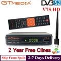 Горячая продажа спутниковый ТВ приемник Gtmedia V7S HD рецептор поддержка Европа Cline для Испании DVB-S2 спутниковый декодер Freesat V7 HD