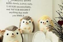 1PCS Cute Plush Hedgehog Toy  Creative Mini Soft Stuffed Animal Toys Birthday Girls Playmate Gift