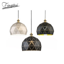 Nordic Iron Pendant Lights Lighting luxury Pendant Lamp Dining Living Room Bedroom Light Fixture Home Decor Hanging Lamp