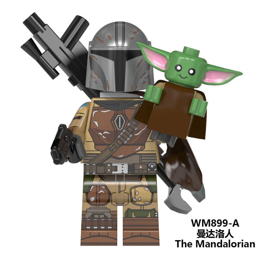 Starwars Figures Baby Yoda The Mandalorian Warrior Kylo Knights Of Ren Rey Finn Sith Jet Trooper Star Wars Building Blocks Toys
