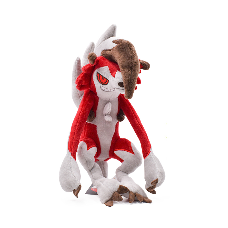 Dusk Form Pokemon Center Sun /& Moon Lycanroc Plush Doll Stuffed Toy Large Size