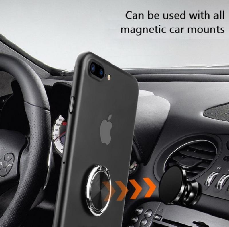 Universal 360+180  Rotating Phone Ring Holder Magnetic Mobile Phone Car Holder Multifunctional Mobile Phone Holder Finger Ring 2