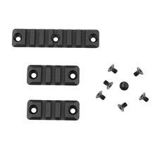 3 Delige Set Gel Blaster 3/7 Slot Voor Smr 416 Handguard Rail Aluminium Picatinny Rail Mount Handguard Sectie Paintball Accessoire