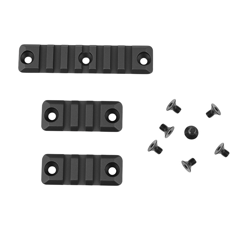 3 Piece Set Gel Blaster 3/7 Slot for SMR <font><b>416</b></font> Handguard Rail Aluminum Picatinny Rail Mount Handguard Section Paintball Accessory image