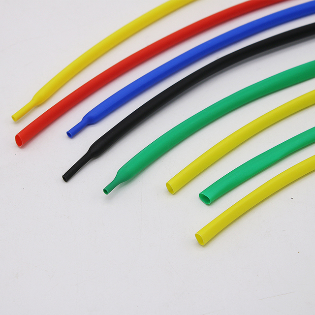 1 metr rurka termokurczliwa 2:1 przezroczysta termokurczliwe rurki zestaw klej klej 1,2,3,5,8mm,10mm pvc biały kabel termokurczliwy rękaw