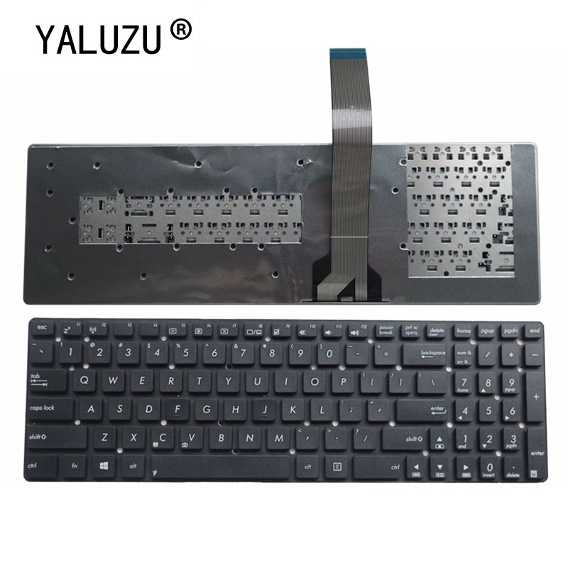YALUZU New For ASUS K55A K55VD K55VJ K55VM K55VS A55V A55XI A55DE A55DR R700V A55VM A55VD A55VJ US English Laptop Keyboard