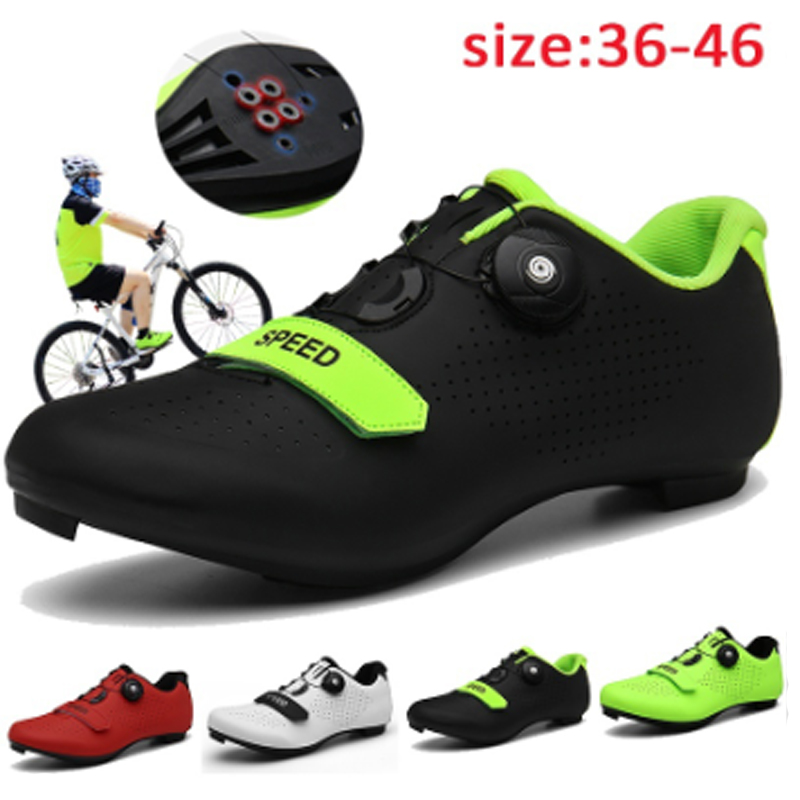 Ciclismo de Estrada Sapatos de Ciclismo Sapatos de Bicicleta de Montanha Mountain Cycle Sneaker Triathlon Corrida Mtb