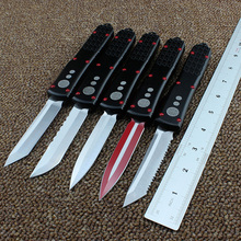 Hand tools OTF UT knife S/E D2 blade aluminum handle camping survival EDC outdoor hunt Tactical Knives tool dinner kitchen