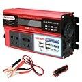 2000 Вт 4 Usb Инвертор постоянного тока 12 В в переменный 220 В автомобильный адаптер преобразователь заряда ЖК-дисплей модифицированный синусоид...