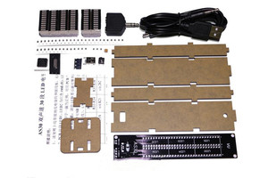 Image 2 - AS30 analizador de espectro de música estéreo, 30 segmentos, Kits de pantalla de nivel LED Medidor de VU