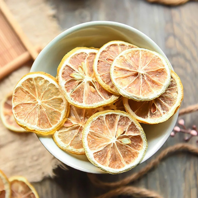 2020 Chinese High Quality Dry Lemon Slice Flower Tea Fresh Natural Lemon Tea Green Food For Health Care Lose Weight 2