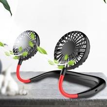 Usb-Fan Hanging Portable Air-Cooler Desktop Office Mini Dual 360-Degree