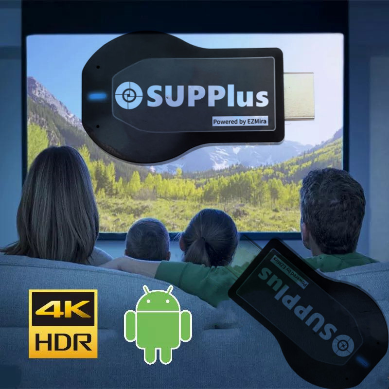 Spain iptv 4K Full HD Android TV support Smart TV PC  Wireless Wifi Display Receiver m3u with speaker Europe World TV