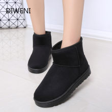 Brands High Quality Australia Winter Women's Snow Boots Cow Split Leather Ankle Shoes Woman Botas Mujer boots women N246(China)