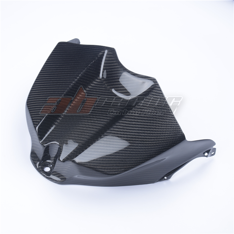Fuel Gas Tank Cover Protector For YAMAHA  YZF R1 2009-2014 2013 Carbon Fiber