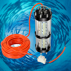 Dimmable 500W 1000W 1500W 30M cable AC200V to 240V Multi Color Dock Lamp Fishing LED Lights Lure for Ocean Boat Fishing