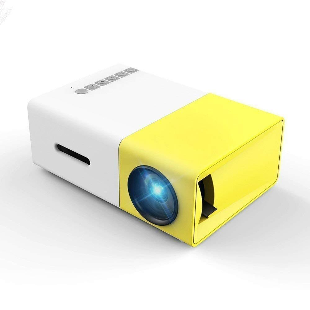YG 300 USB LED Mini Projector 600 Lumen 3.5mm Audio 320x240 Pixels HDMI LCD Projector Home Media Player