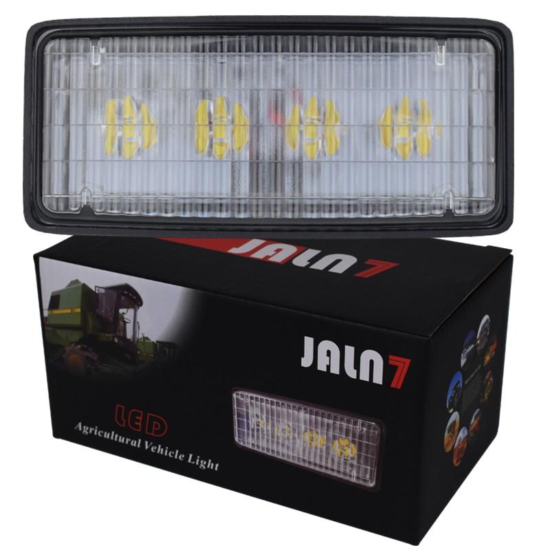 JALN7 pojazdy rolnicze lampa 20W LED Wrok lekki ciągnik rolniczy dla John Deere leśny kombajn ciężarówka reflektor 12V 24V