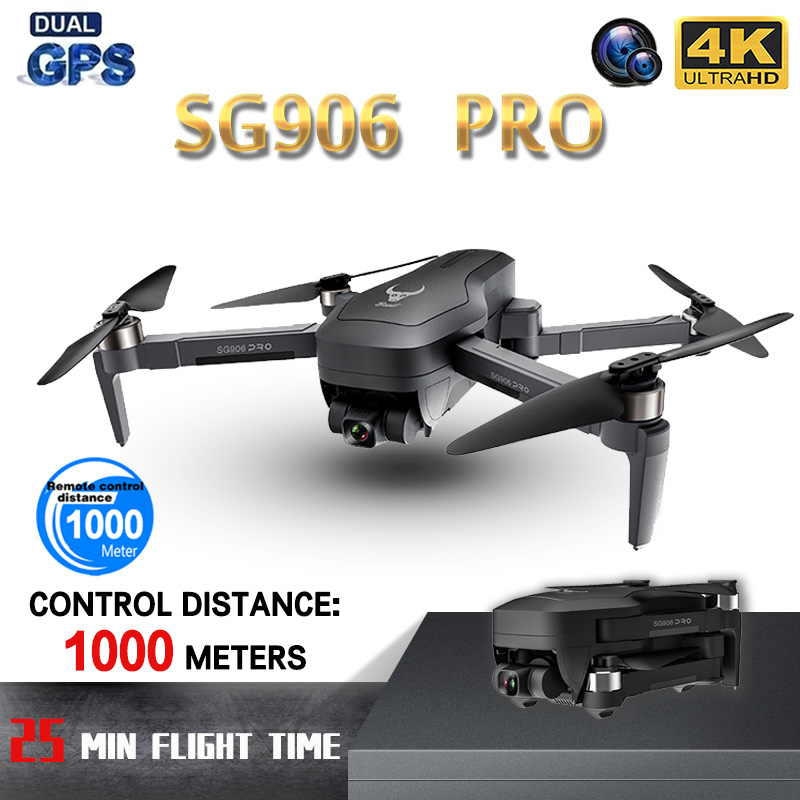 ZLL SG906PRO Professional GPS <font><b>Drone</b></font> 5G WIFI FPV Anti-Shake Self-Stabilizing Gimbal <font><b>4K</b></font> HD Camera RC <font><b>Drone</b></font> Foldable Quadcopter image