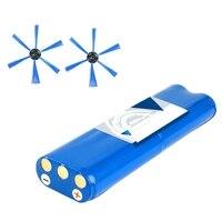 14.8V 2800Mah 18650 Li-Ion Bateria Side Escova para Philips Fc8820 Fc8810 Robótica Aspirador de pó Aspirador de pó