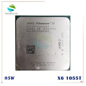 Image 1 - AMD Phenom X6 1055T X6 1055T 2.8GHz Six Core CPU Processor  HDT55TWFK6DGR 95W Socket AM3 938pin