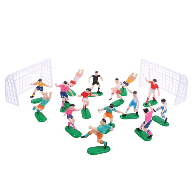 8 шт./компл. футбольная игра детская игрушка праздник гол ворота кондитерский искусство День Рождения Кекс Топпер кекс торт Топпер украшени...