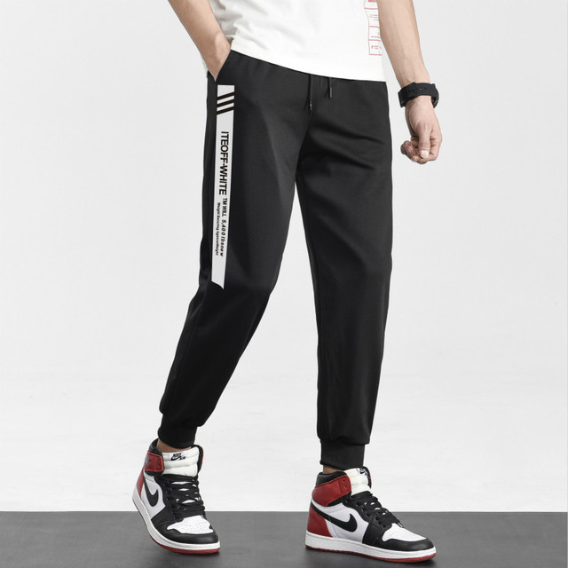 Brand Joggers Casual Sports Pants Men Gym Clothing Comfortable Male Tracksuit Bottoms Black Track Pants Mens Fitness Sweatpants 1
