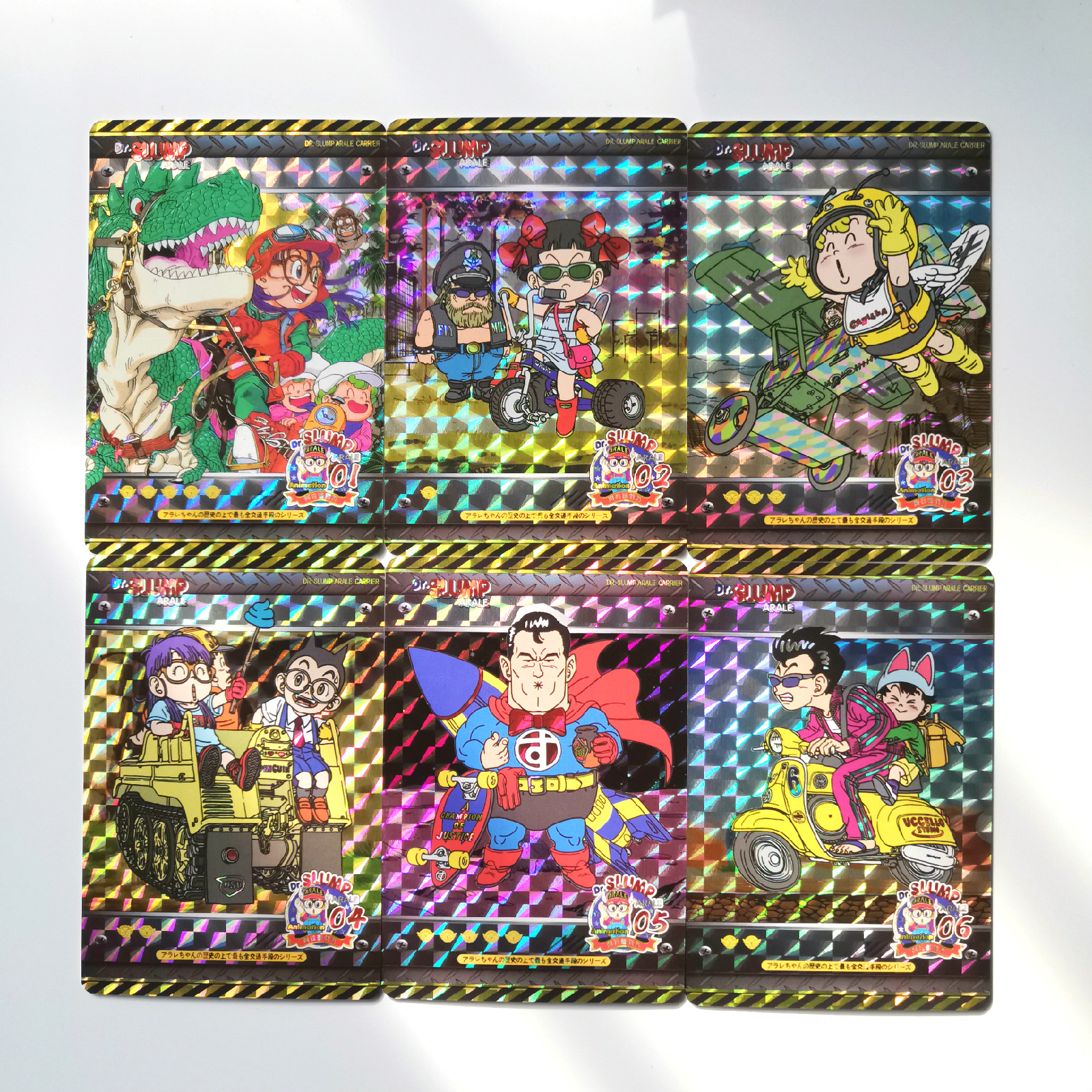 28pcs/set Arale VehicleToys Hobbies Hobby Collectibles Game Collection Anime Cards