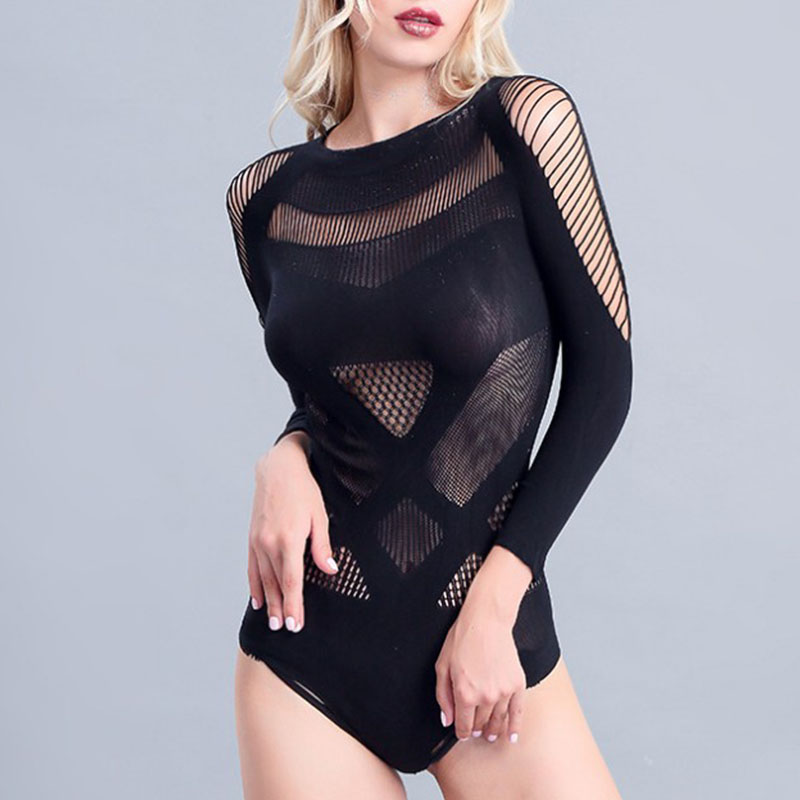 Jazz Dance Costumes Women Perspective Pole Dance Performance Clothing Dj Disco Bodysuit Gogo Dancers Stage Rave Outfit DC3759