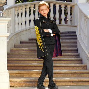 Image 2 - Suit To Boy Elegant Boys Suits For Weddings Party Costume Enfant Garcon Mariage Brothers Of The Groom Dresses Conjunto Menino